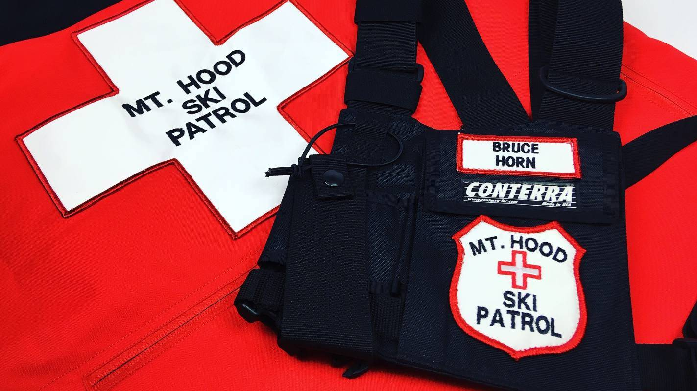ski patrol search and rescue patches sewing